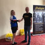 Tamsin Vicary Manchester Wheelers with John Reid